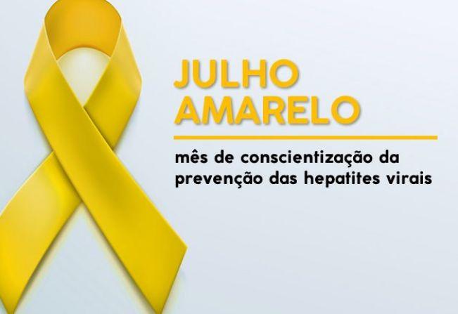 Prefeitura de Cerquilho realiza ação do Julho Amarelo - Mês de Prevenção das Hepatites Virais
