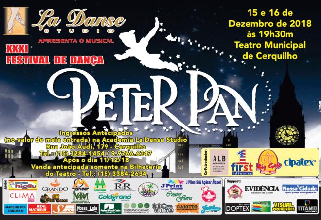 """Notícia - Teatro Municipal recebe Festival de Dança """"Peter"""