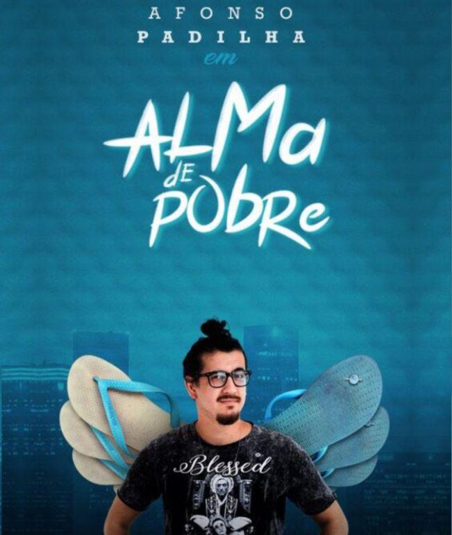 Teatro Municipal de Cerquilho recebe o comediante Afonso Padilha